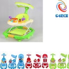 G4RCE Baby Walker Activity First Steps Car Toy Theme Adjustable Heights UK