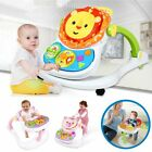 4 In 1 Baby Walkers First Car Ride On Wheel Musicial Play Push Walker Push Power