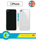 Premium Quality Replacement Back Plate Glass Housing Cover for iPhone 4S 4