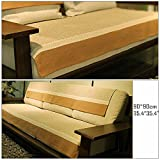Ieasycan Cotton and linen Sofa Cover Cushion Backrest Slipcover Covering Mat for Home Furniture Protector