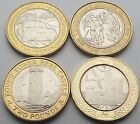 Isle of Man £2 coin set - Circulated