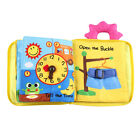 Soft Baby Cloth Book 3D Activity Books for Toddlers Preschool Education Toys