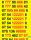 New O2 GOLD VIP BUSINESS EASY MOBILE PHONE NUMBER SIM CARD ee VODAFONE good NICE