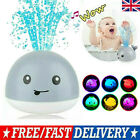 Baby Bath Toys Whale Induction Water Spray Ball LED Sprinkler Whale Bath Toy PK