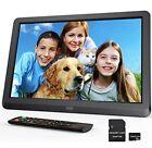 Digital Photo Frame 10 inch, 1280 x 800 High Resolution 16:9 IPS Display Digital