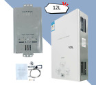 12L 3.2GPM Camping Tankless Water Heater for Instant Shower LPG Propane Gas UK