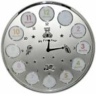 *   My First Year   Clock Photo Frame Babys First Birthday Christening Gift - 12