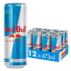 Red Bull Energy Drink Sugar Free 12 Pack of 473ml, BIG CANS