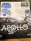 Moon Landing FDC stamps  APOLLO 11  50th Anniversary 1969-2019 Second Stamp 2019