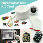 15pcs Stained Glass Fusing Supplies Professional Microwave Kiln Kit Tool DIY