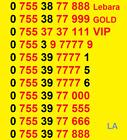 New LEBARA GOLD VIP BUSINESS EASY MOBILE PHONE NUMBER SIM CARD Libera ee O2 UK