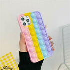 Soft Silicone Fidget Stress Relief Case Cover For Apple iPhone 4 5 6 7 8 X 11 12