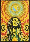 BOB MARLEY Wall Hanging Tapestry Mandala Cotton Wall Art Small Poster