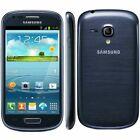 BRAND NEW SAMSUNG GALAXY S3 MINI UNLOCK MOBILE PHONE ANDROID SMARTPHONE-BLUE COL