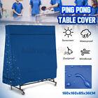 UK Blue 160CM Waterproof Indoor/Outdoor Table Tennis Cover Ping Pong