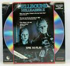 RARE HELLBOUND HELLRAISER II Laser Disc Letterbox Video RARE HORROR LASERDISC