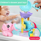 Fun Baby Bath Toy Shower Spray Water Waterwheel Bathtub Toys For Toddlers Kids