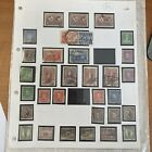 Australia Page of 33 Stamps. Used