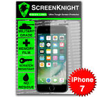 """ScreenKnight Apple iPhone 7 / 4.7"""" FRONT SCREEN PROTECTOR Military Shield"""