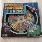 Wheel Of Fortune Bingo Board Game Family Fun. New.