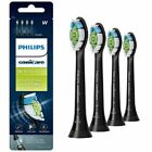 Philips Sonicare Diamond Clean Replacement Toothbrush Heads HX6064 Black