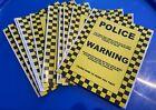 10 x Prank Parking Ticket Joke Penalty Police Notice Funny Waterproof Stickers