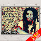 METAL SIGN - Bob Marley Poster, Motivational Quote, Music, Wall Art & Home Decor