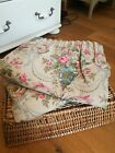 """Laura Ashley Beautiful Floral Curtains 90"""" Drop."""