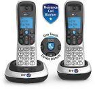 BT 2200 Twin Digital Cordless Handset Phone Home Office House Landline Set