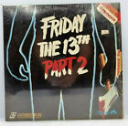 LASERDISC FRIDAY THE 13TH PART 2 Laser Disc Extended Play Video RARE PIONEER