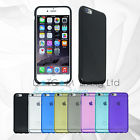 TPU Soft Silicone Clear Colours Gel Back Case Cover Apple iPhone 4/5/6/6s/6Plus