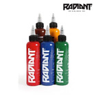 RADIANT TATTOO INK TRADITIONAL SET - 5 x 1oz  TRAD COLOURS