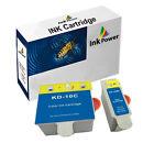 2 Ink Cartridge for Kodak ESP 3 3200 3250 5 5210 5250 7 7200 7250 9 9250 K10
