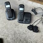 BT Studio Plus 5500 Black Cordless Home phones 2 Handsets