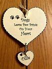 New Pet Loss Memorial Plaque Personalised Handmade Sign, Gift Keepsake Dog Cat