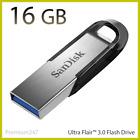SanDisk Ultra Flair USB 16 32GB 64GB 128GB 3.0 Flash Drive Memory Stick 150MB/s