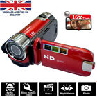 16M Zoom 1080P Digital Video Camera YouTube Live Stream Vlogging DV Recorder Red