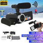Digital Camera Video HD 1080P 18X ZOOM 24MP  Camcorder Recorder with Microphone