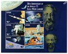 1969 NASA APOLLO XI EAGLE MOON LANDING Space Stamp Sheet (1999 Guyana)
