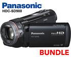 Panasonic HDC SD900 Full HD 1920x1080p (50p) 3D Ready Black Camcorder (SD Card)