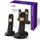 Digital Cordless Phone Twin Handsets Home Telephone House Office Landline