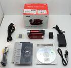 CANON LEGRIA FS306 CAMCORDER BOXED DIGITAL VIDEO CAMERA & 8GB SDHC CARD