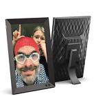NIX 10.1 Inch USB Digital Picture Frame - Portrait or Landscape Stand, HD Remote