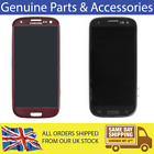 Original LCD Display Replacement For Samsung Galaxy S3 Black / Red