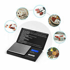 0.01G-500G Digital Weighing Scales Pocket Grams Small Kitchen Gold Jewellery BLK