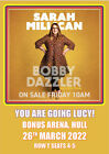 Personalised Sarah Millican Tour 2022 Show Concert Tickets Card A5