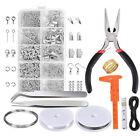 Jewellery Making Findings Kit DIY Wire Pliers Starter Tools Necklace Repair Tool