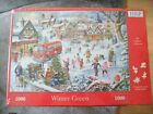 HOP 1000 PIECE JIGSAW  WINTER GREEN  HOUSE OF PUZZLES NEW SEALED
