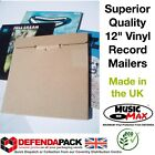 """50 STRONG RECORD MAILERS 12"""" LP VINYL Albums MusicMax CARDBOARD PACKAGING BOXES"""
