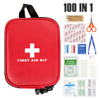 First Aid Kit 100 Piece Medical Emergency Workplace Car Sports Travel Superior M